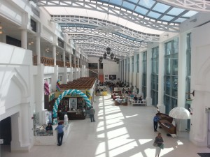 Inside the modern souq
