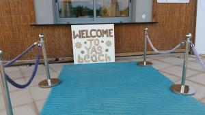 Welcome to Yas Beach