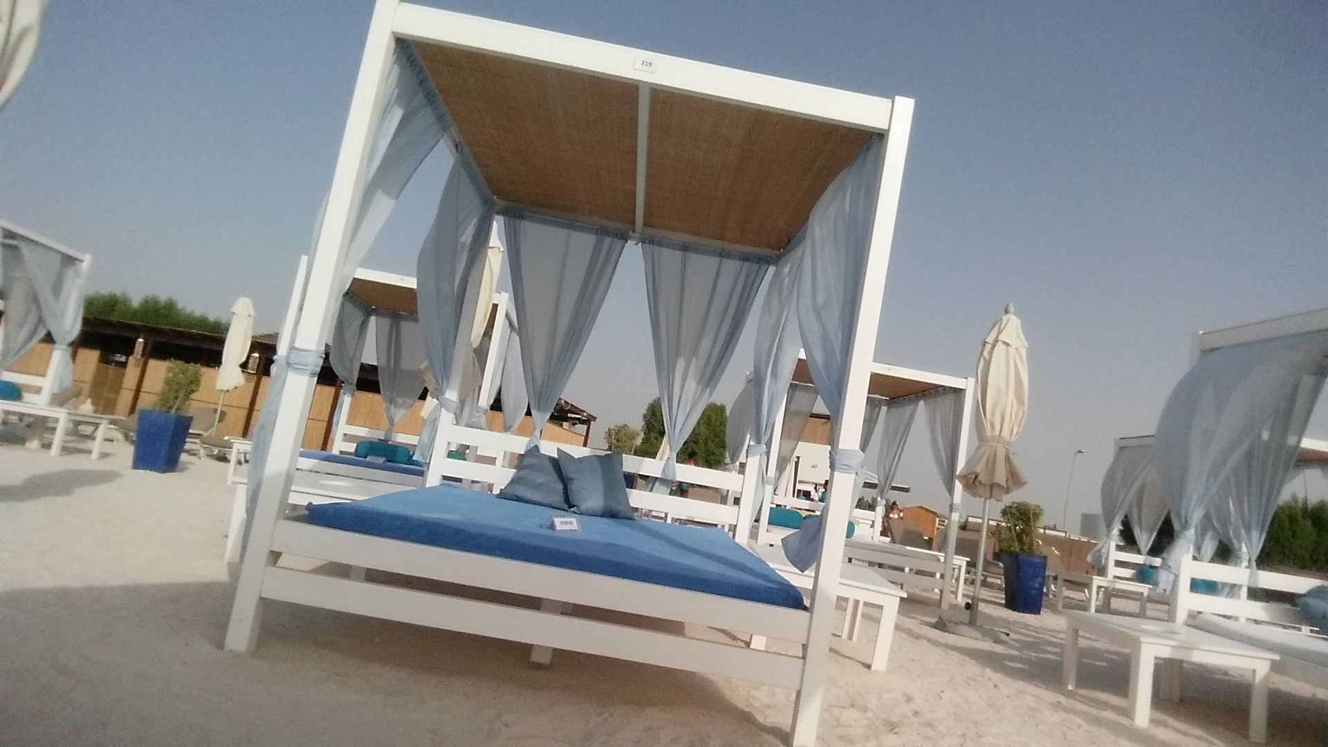 Yas Beach cabana